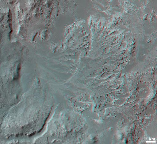 Fossil 'River Delta' in Eberswalde