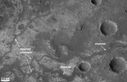 Ancient Channels Near Mawrth Vallis