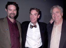 Planetary Society's Jim Bell, Bill Nye, Louis Friedman