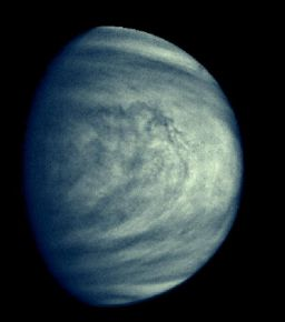 Venus' upper atmospheric clouds