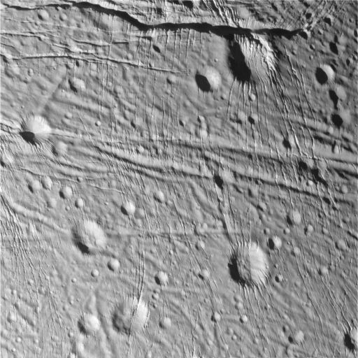 Sliced-up Craters