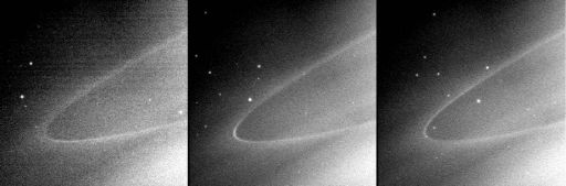 An arc in Saturn's G ring
