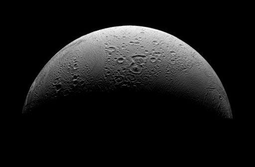 Enceladus' north pole
