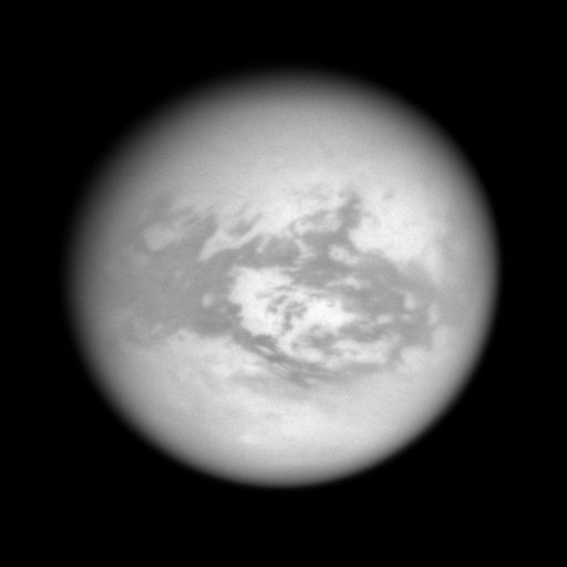 Titan's anti-Saturn hemisphere