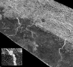 Rivers on Titan