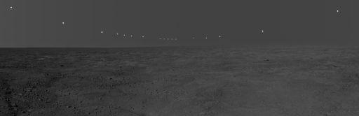 Midnight Sun on Mars