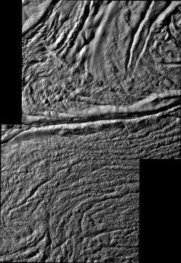Damascus sulcus, Enceladus