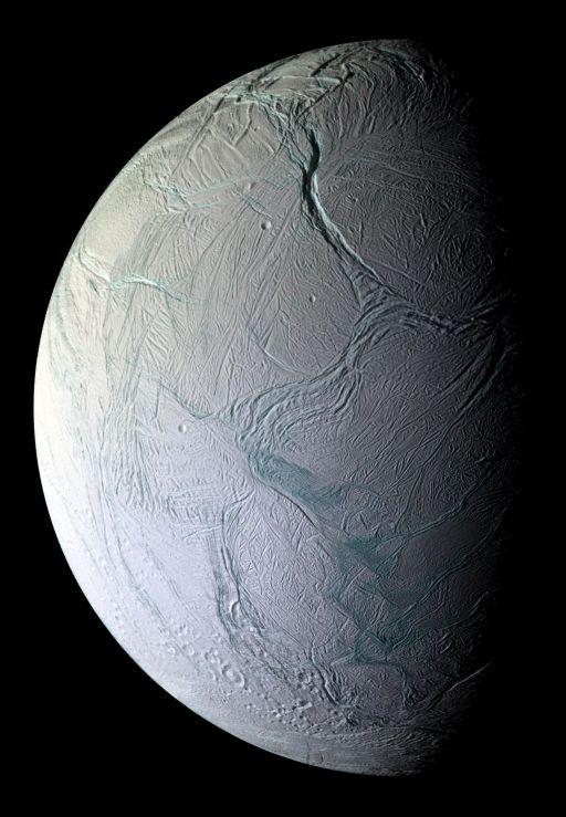 Tectonics on Enceladus