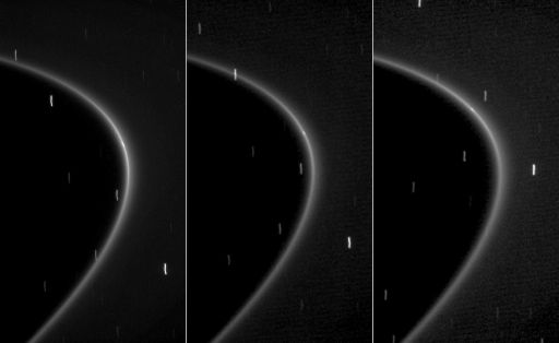 New moon of Saturn within the G ring: S/2008 S1