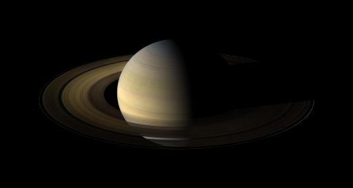 Saturn at equinox