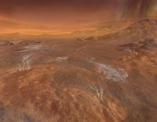 Rainy Day at Hotei Arcus, Titan
