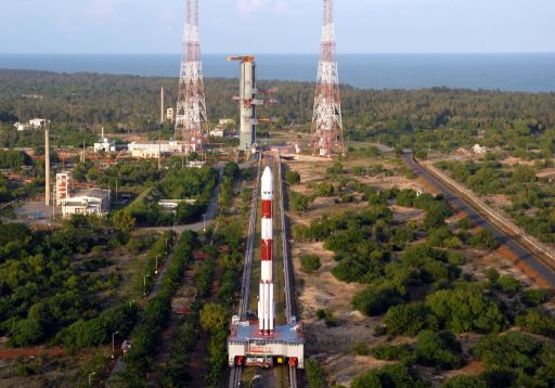 Chandrayaan-1 journeys to the launch pad