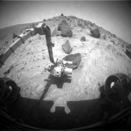 Spirit at 2 -- Mars years
