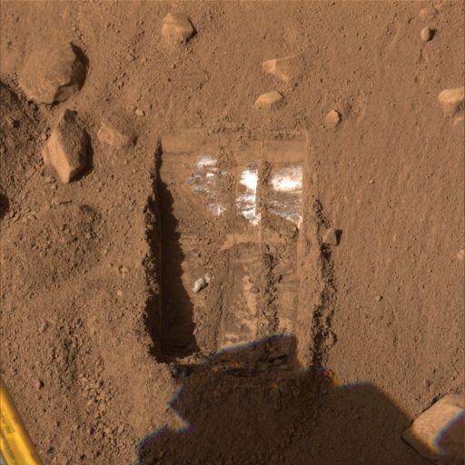 Sol 19 view of Dodo-Goldilocks trench site