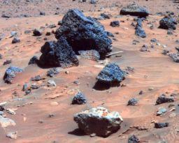 Allan Hills -- on Mars