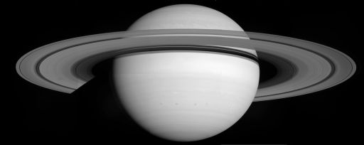 Quick-and-dirty Saturn and rings mosaic