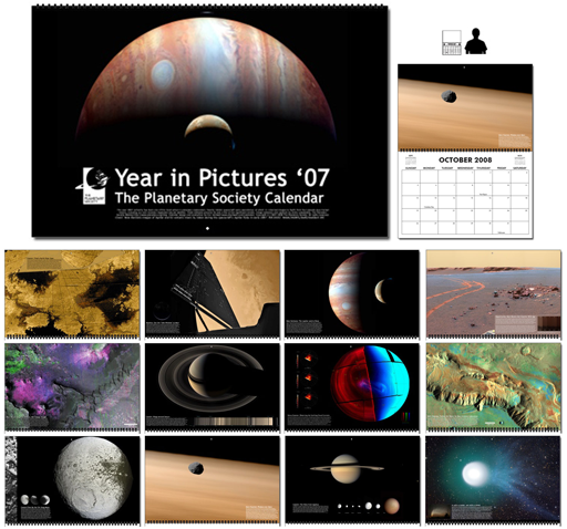 Year in Pictures 2007 Planetary Society Calendar