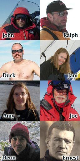 The 2008-2009 ANSMET team