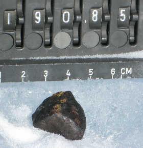 Meteorite number 19085