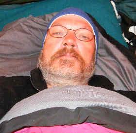 A tent slug: self-portrait.