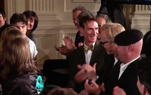 Bill Nye at the White House Science Festival