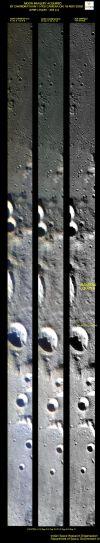 Image from Chandrayaan-1's HySI camera