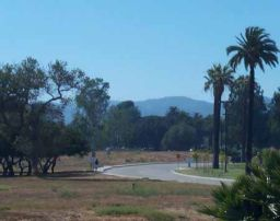 Sunny southern California