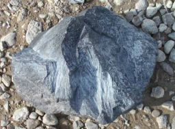 Shattercone from Haughton Crater