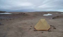 Emily's tent on Devon Island