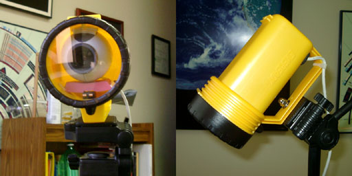 A weatherproof Webcam enclosure