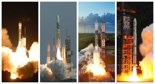 Four launches in 2007