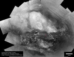 Large surface mosaic of Titan