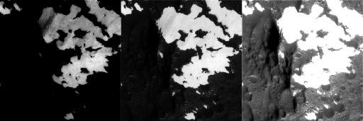 Adjusting levels on Iapetus