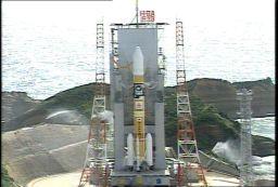 Kaguya on the launch pad