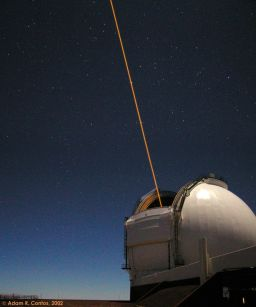 Laser Guide Star Adaptive Optics system at the Keck Observatory