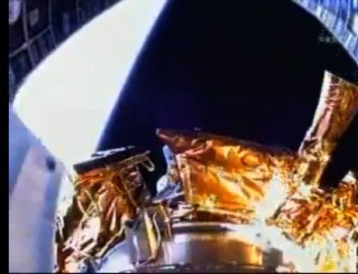 LCROSS Viewed by Centaur Rocket