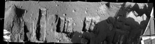 Panorama across the Phoenix work volume, sol 131