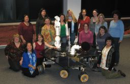 Mars Exploration Rover tactical operations team for February 22, 2008