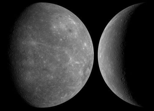 MESSENGER's view of Mercury during its first flyby
