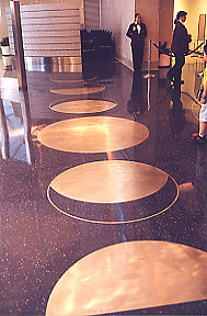 Floor of LAX's Terminal 4