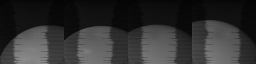 Original data for the Despina shadow/transit sequence