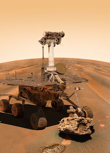 Mars Exploration Rovers Update: Spirit Overcomes Setbacks