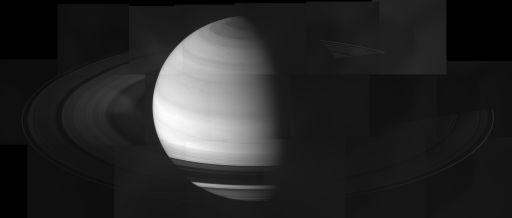 Quick-and-dirty Saturn and rings at equinox mosaic