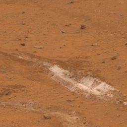 Silica-rich patch in Gusev Crater