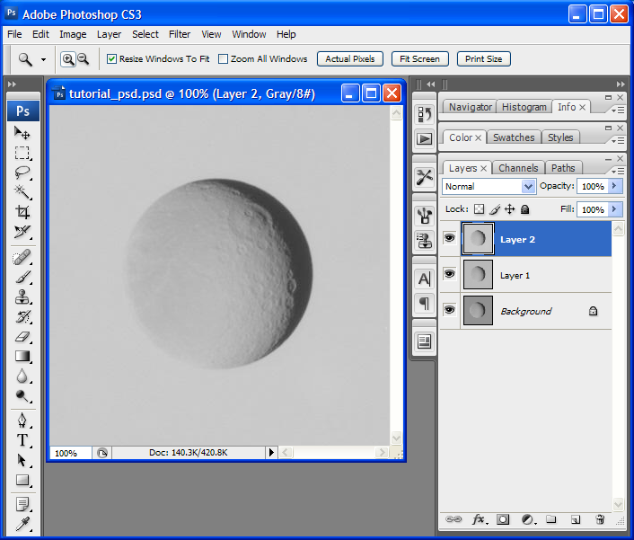 Tutorial: Making RGB Images in Photoshop   The Planetary Society