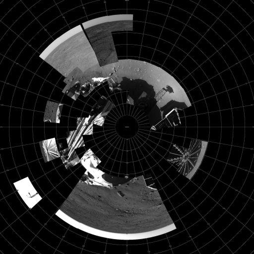 'Scorecard' of Phoenix imaging: sol 3