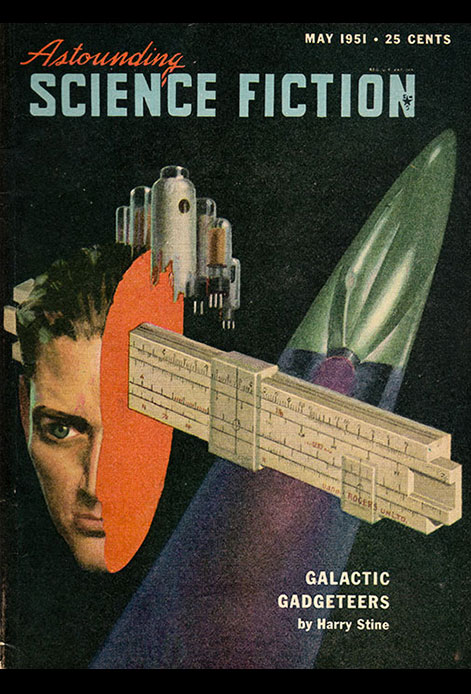 Astounding Science Fiction magazine cover
