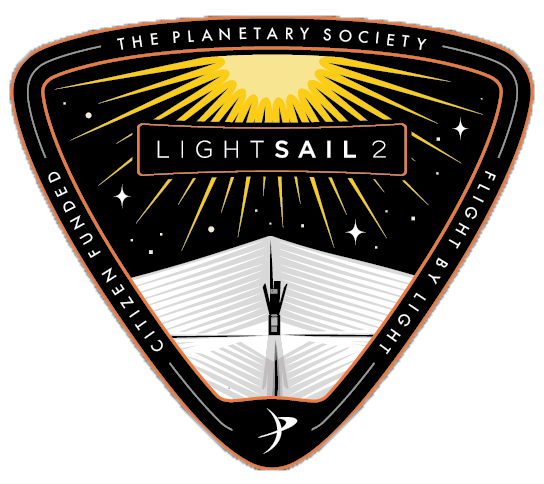 LightSail 2 mission patch