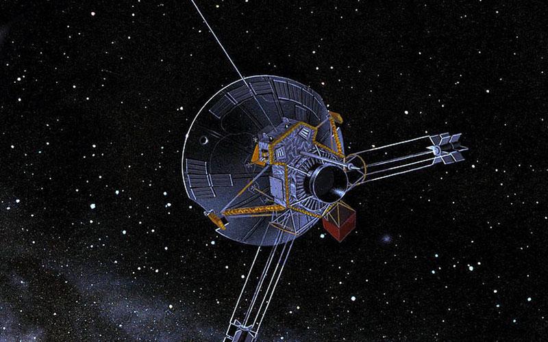 Pioneer 10 or 11 art