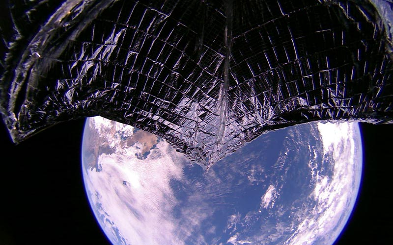 lightsail 2 over Baja